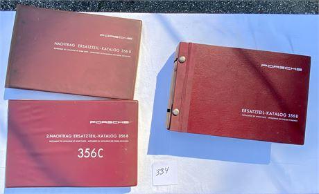 Porsche Factory Spare Parts Catalogue