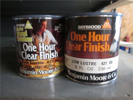 5 - 8 oz Benjamin Moore Penetrating Low Lustre Stain