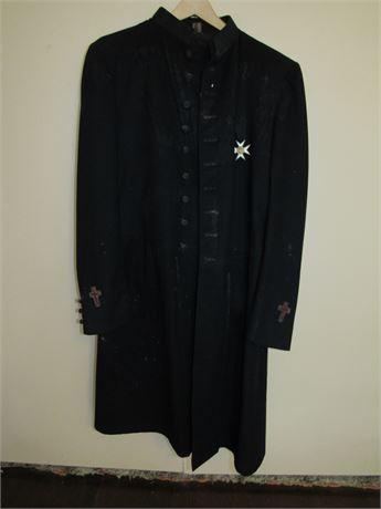 1940s Masonic Frock Coat + Pants