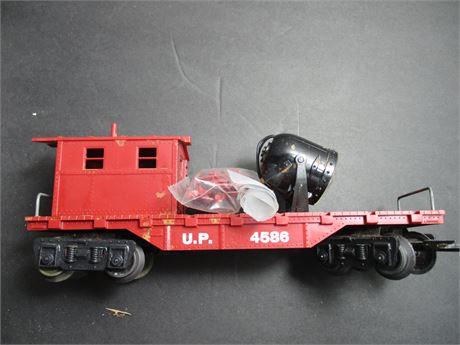 Lionel 4586 Electric Spot Light Flat Railroad Car