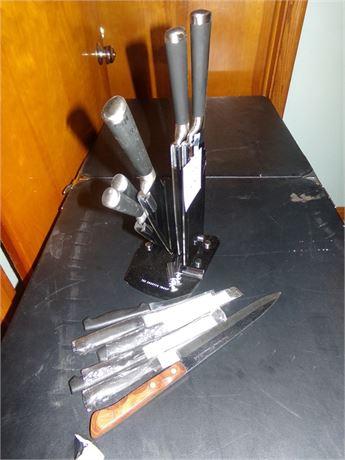 Sharper Image Knife Set and other Knives