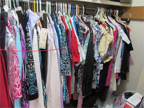 Closet Clothing Clean Out Lot