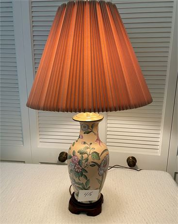 Asian Style Lamp in Excellent Condition