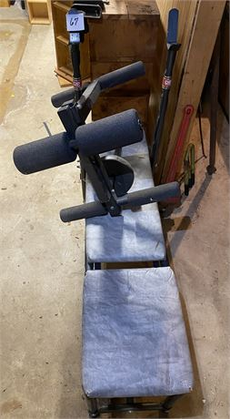 DP Bench Press Bench with Attachment