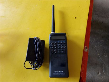 Radio Shack Programmable Scanner
