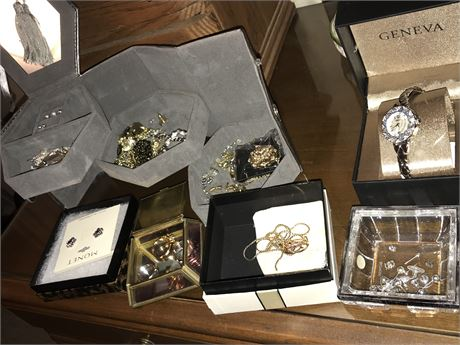 Jewelry Box with ALL contents and extras