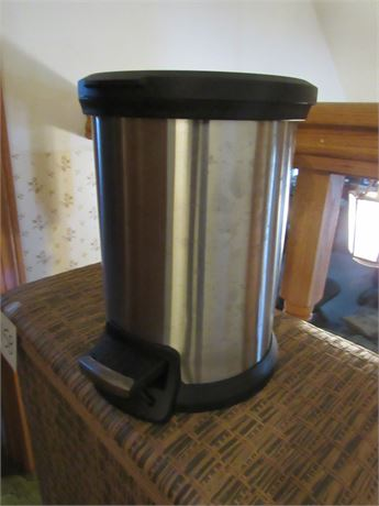 Small Stainless Trash Can