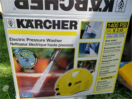 Karcher 1400PSI  Electric  Pressure Washer