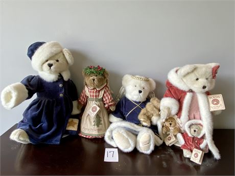 Limited Edition Boyds Bears from the Best Dressed Collection - Most w/ Tags