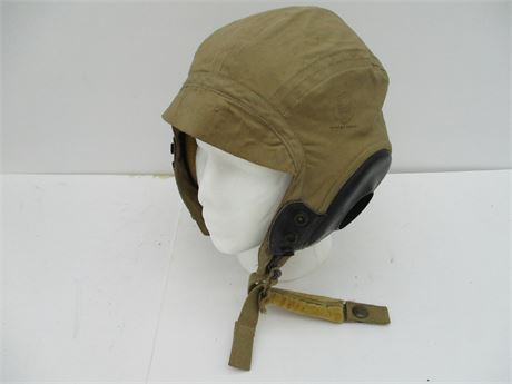 Vintage 1940's  Army Aviator Type A-10A X Large Summer Flying Hat