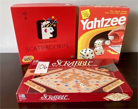 Board Games Lot #1