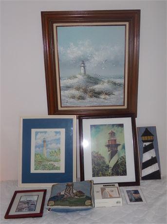 Lighthouse decor lot