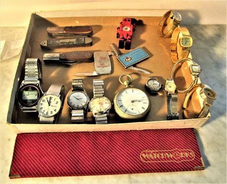 Men's and Ladies Wrist Watches