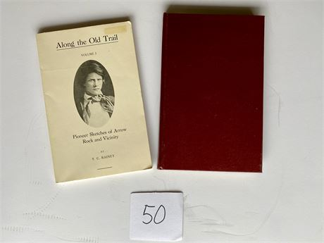 Along the Old Trail, Reprint of First Addition - Hardcover and Softcover