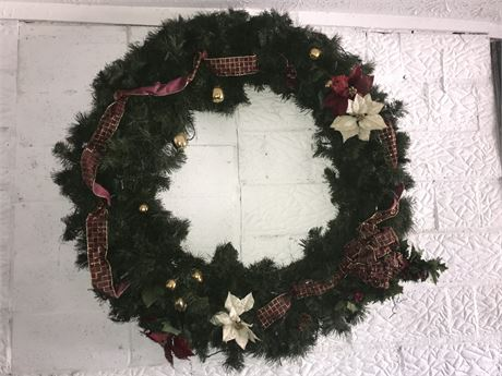 "Very Large Christmas Wreath (50"" across)"