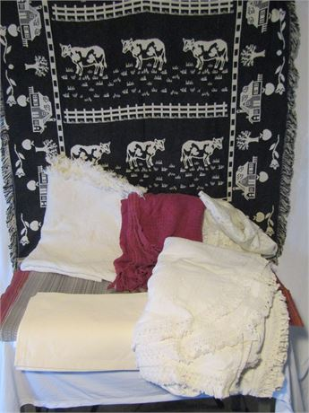 Bedspread, Throws and Placemats