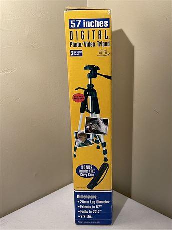 Digital Photo/Video Tripod - New in Box