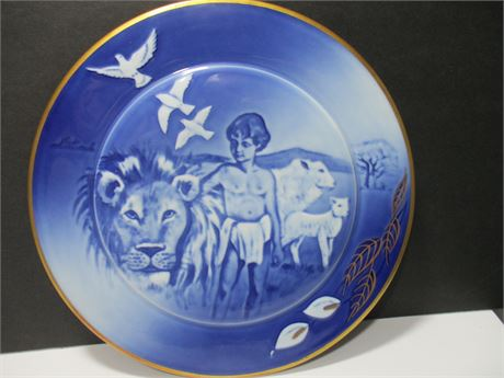 """Vintage 1988 """"peace on Earth"""" Limited Edition Collector Plate"""