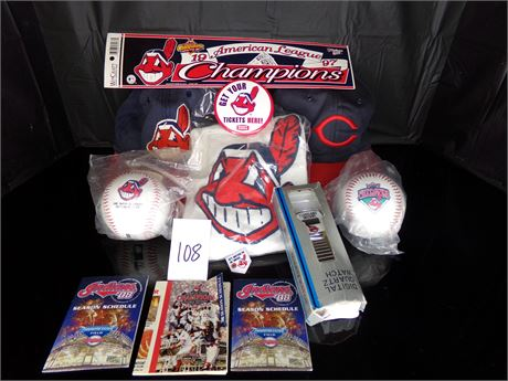Cleveland Indians items
