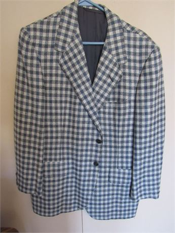 Oxxford 100% Cashmere Sports Coat Jacket. Men's M Vintage