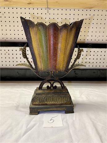Decorative Metal Vessel