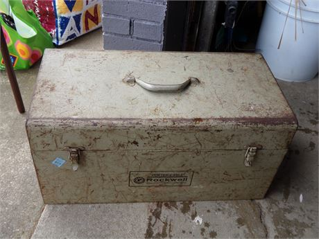 Porter Cable Rockwell Tool Box, Plane Attachments, and Router