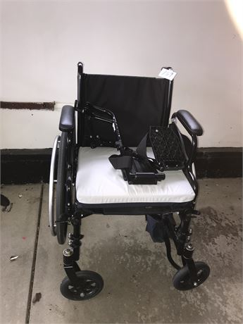 Invacare Tracer SX5 Wheelchair with extra padded cushion