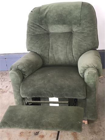 Lazy Boy Ultra Suede Recliner/Rocker Chair