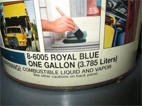 1 Gal Majic Rust Kill Royal Blue Semi Gloss Multi Purpose Oil Base Enamel