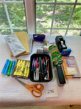 Loaded Office Supplies Lot
