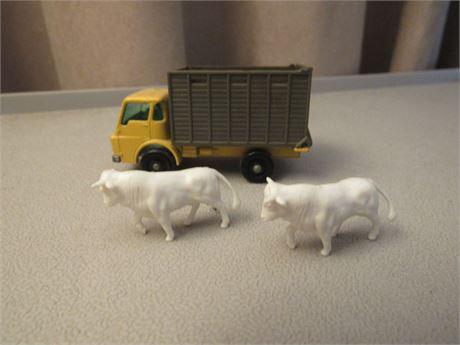 Matchbox Lesney # 37 Cattle Truck