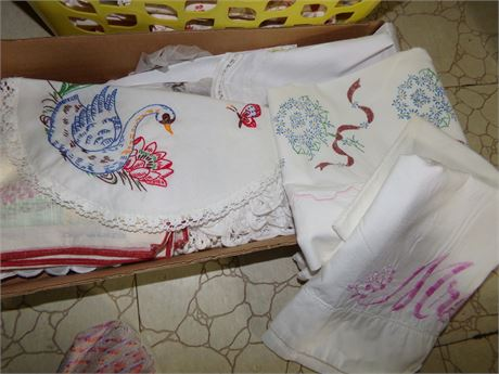 Embroidery and Doilies