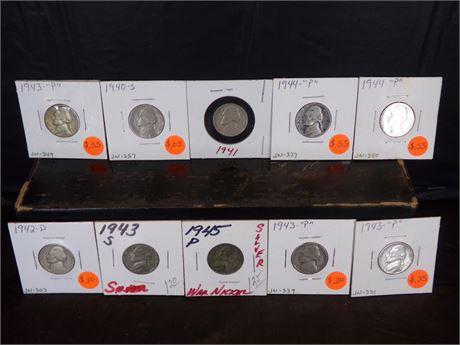 WW2 Nickels
