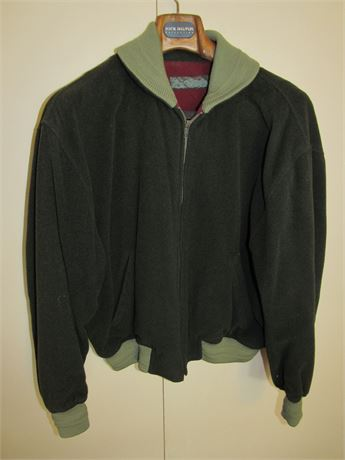 Luciano Barbara Wool Bomber Jacket L