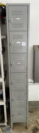 """""""Global"""" Steel Locker Storage Cabinets with Contents inc. Tools"""