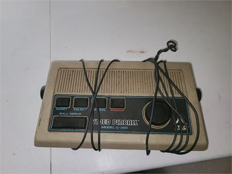 Atari Video Pinball Model C380 NO POWER CORD