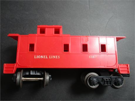 Lionel 6167 Red Caboose Railroad Car