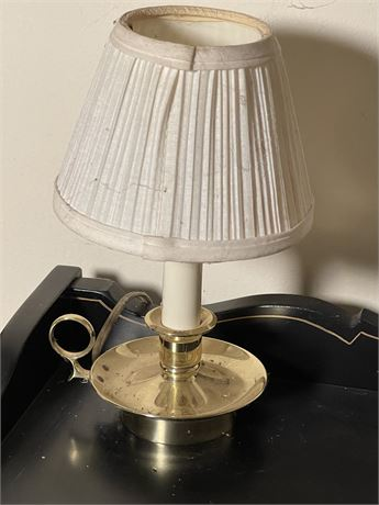 Chamber Stick Style Small Table Lamp