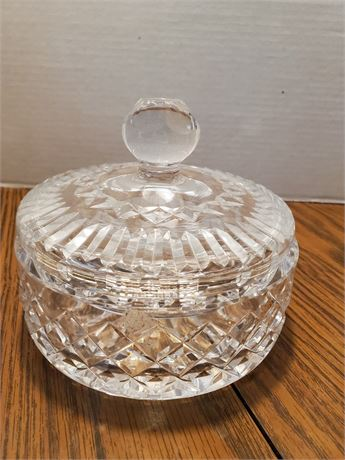 Waterford Crystal Covered Dish