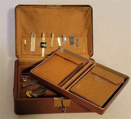 Tie Clasps, Sterling Buckle, Misc. in Men's Vanity Box