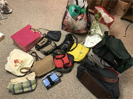 Purses and other Bags Lot