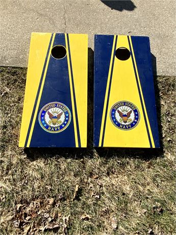 U.S. Navy Cornhole Set with Handles