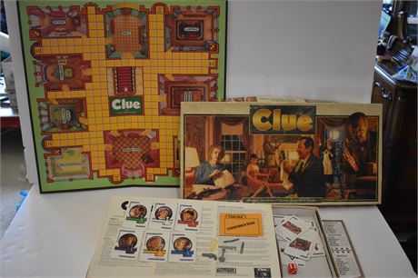 CLUE 1972 printing-As is-appears to be complete
