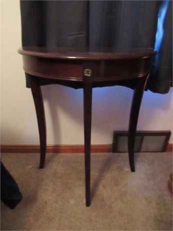 Wood Half Table