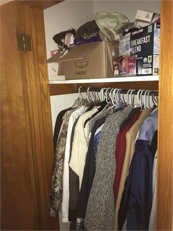 Complete Closet Lot - Coats, Gloves, Scarves and More