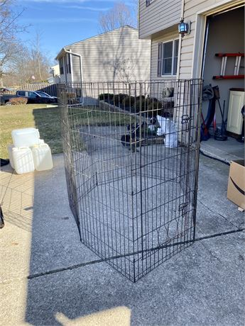 Metal Pet Enclosure