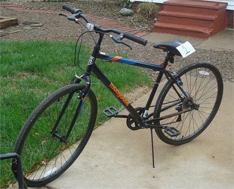 Mountain Bike and Rack