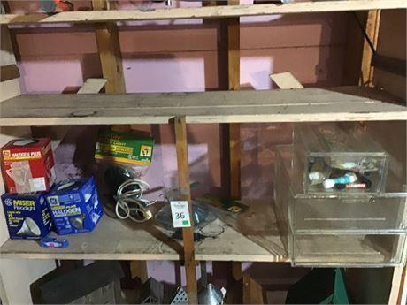 Three Piece Closet Storage Boxes, Flood Light Bulbs and More