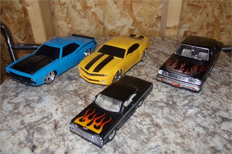 Assorted muscle cars