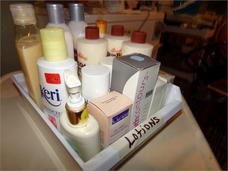 Variety of Lotions
